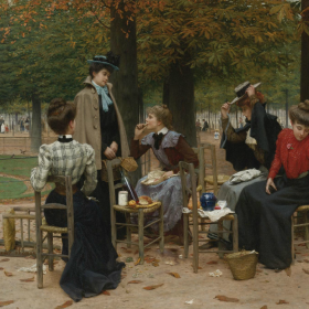 The Art of Fall | 19th Century Salon Paintings